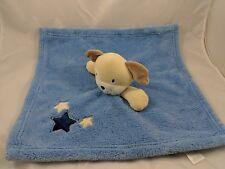 Baby Gear Dog Lovey Blue Security Blanket Stars Stuffed Animal