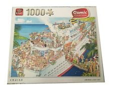 King Cruise 1000 piece jigsaw (Unchecked)