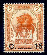SOMALIA 1906 - LEONE SOPRASTAMPATO  Centesimi 15 su 2 A. NUOVO **