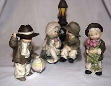 "EUC 3 1995-96 ENESCO Figurines ""Love"" ""Boy W/Globe"" ""Boy W/Roses"" Kim Anderson"