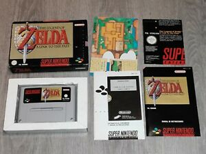 The Legend of Zelda: A Link to the Past Snes Super Nintendo Pal España COMPLETO