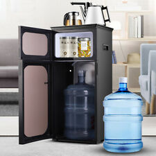 Hot/Cold Water Cooler Dispenser Upright Tea Bar Machine Home Office + 2 Kettles