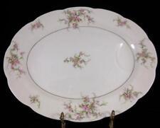 "Theodore Haviland New York ""Rosalinde"" 14"" Oval Serving Platter"