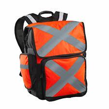 Caribee Pilbara 34L Hi Viz ORANGE Backpack Day Pack