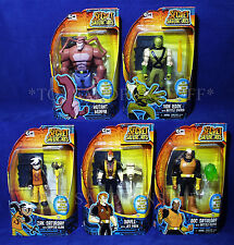 5 New THE SECRET SATURDAYS Action Figures - ZAC Mutant Munya DOC Van Rook DOYLE