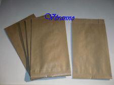 10 pochettes cadeaux kraft brun 12 x 20cm.