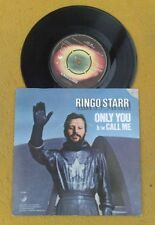 "RINGO STARR  "" ONLY YOU ""SENSATIONAL NEAR MINT ORIG UK 7"" RARE pic SLEEVE"
