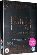 The Twilight Saga Complete Collection Boxset TV Vampire Series 5 DVD New Sealed