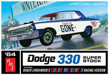 AMT 1/25 1964 Dodge 300 Super Stock Color Me Gone SCALE PLASTIC KIT 987