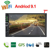 7in HD 2Din Touch Screen Car Stereo MP5 Player Radio Android 9.1 Video FM Player