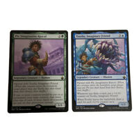 Pit And Toothy - Partner Commander - Magic The Gathering Cards - Battlebond EDH