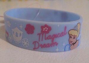 Disney Princess Licensed Cinderella Rubber Bracelet Wristband Magical Dream New