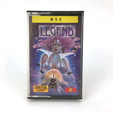 Legend iber software mcm spain 1988 ma youth rare Guardic msx cassette hack
