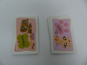 Littlest Pet Shop Monopoly Game Replacement Pieces Parts TREATS & TOYS CARDS