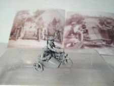 EWM Uscav32mp 1/76 Diecast WWII 3 US cav on 1916 Harley motorcycle w/side car