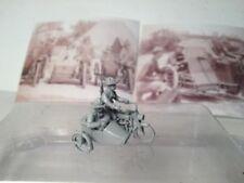 EWM Uscav32mp 1/76 Diecast WWII 3 US cav on 1916 Harley motorcycle w/side car