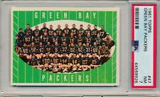1961 TOPPS GREEN BAY PACKERS #47 PSA 7