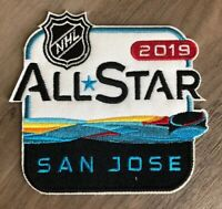 2019 NHL ALL STAR GAME PATCH SAN JOSE HONDA Hockey Jersey Iron Sew On Embroider-