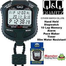 AUSTRALIAN SELER CITIZEN MADE PRO HAND HELD STOP WATCH HS45J001 RP$119.9 WARANTY
