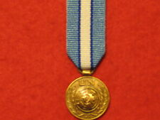 Miniature United Nations Cyprus Medal with ribbon