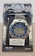 PRICE REDUCED! Vintage Embossed Ford F-150 Wrist Watch New Old Stock, NEW IN BOX