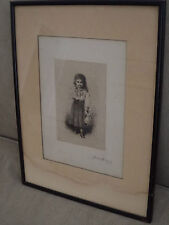 James Wells Champney Etching Hand Signed