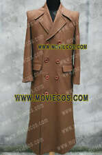 Who Purchase the Doctor Dr Dr. Trench Coat Brown Wool Costume Tailor Made Well