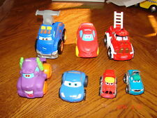 Lot of 7 TONKA/DISNEY/CHUCK AND FRIENDS Trucks/Vehicles Rubber,Die-cast,Plastic