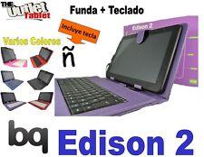 """Funda Teclado Tablet Bq Edison 2 QC 10.1"""" Fnac 10 3.0 Quad core dual core"""