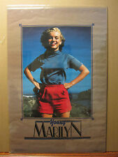 vintage Young Marilyn Monroe Poster original poster classic1988 664