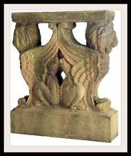 "Concrete Mold  30"" Winged Lion Table Base  Latex Rubber / Fiberglass"