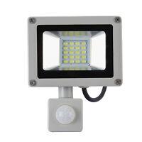 10W 20W IP65 220V LED Flood Light SMD PIR Sensor Spot Lamp Outdoor Security