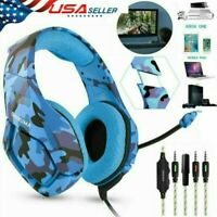 ONIKUMA K1 Gaming Headset for PS4 Xbox Switch 3.5MM MIC Headphone Camouflage USA