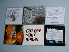 CUT OFF YOUR HANDS job lot of 6 CD/promo CD singles Still Fond Happy As Can Be
