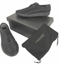 NEW Donna Karan Collection Sneakers (Shoes)!  8  Black Canvas*  *Vintage Style*