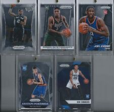 Top Prizm RC Rookie Lot from past 5 years KAWHI/GIANNIS/EMBIID/PORZINGIS/SIMMONS