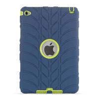 Shockproof Slim TPU Heavy Hard Hybrid Case Cover For Apple iPad mini 4