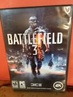 BATTLEFIELD 3 PC DVD/ROM SOFTWARE VIDEOGAME,2011,INCLUDES DISC 1 AND 2