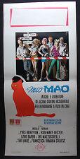 LOCANDINA CINEMA - MIO MAO - Y. BENEYTON - 1970 - COMMEDIA - 02