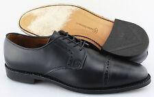 Men's ALLEN EDMONDS 'Clifton' Black Cap Toe Leather Oxfords Size US 8 - D