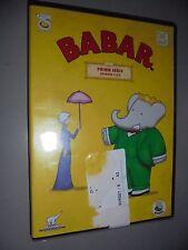 DVD BABAR PRIMA SERIE EPISODI 1 2 3 4