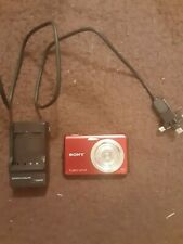 digital camera sony cyber shot with charger and Usb cable