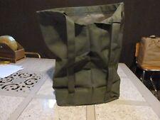 "Ice fishing Back pack bag hand made, heavy duty 21"" x 13"" x 7"""