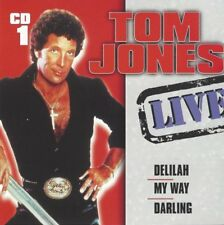 Tom Jones Live CD 1 - incl. Delilah, My Way, Darling, Fever, All By Myself u.v.m
