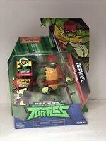 Raphael Rise of the Teenage Mutant Ninja Turtles TMNT Battle Shell Action Figure