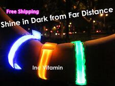 SALE 6pcs LED Safety Flashing Armband Reflective Strap Runners Joggers Cyclists