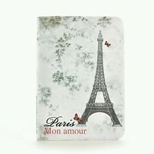 Business Card Holder PVC Passport Holder The Eiffel Tower Passport Cover Travel