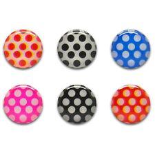 Sticker Autocollant bouton Home iPhone 3GS / 4 / 4S / 5 / 5S / C Pois