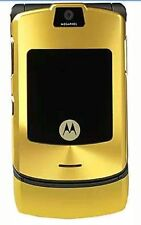 MOTOROLA RAZR V3 GSM 1.2MP CAMERA UNLOCKED- Gold