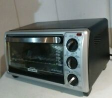 Black + Decker Electric 4 Slice Of Bread Electric Counter Top Toaster Oven Black